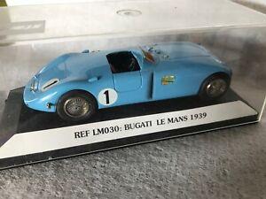 STARTER 1/43 SCALE FACTORY BUILT BUGATI (BUGATTI) TYPE 57C 1939 LE MANS WINNER