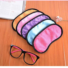 Eye Mask Soft Sleeping Blindfold Shade Cover Travel Comfortable Protection WB