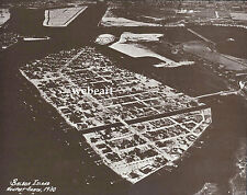 "NEWPORT BEACH Aerial BALBOA LIDO 1930's Photo Print 970 11"" x 14"""