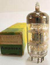 One 1962 La-Radio/Amperex Bugle Boy 12AT7 ECC81 tube- Gray Plates, Top O Getter