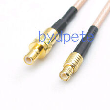 8inch SMB male plug to MCX male plug RF Pigtail Coaxial Jumper Cable RG316 20cm