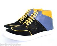 MCQ  BY ALEXANDER McQUEEN MEN'S HIGH TOP TRAINERS SNEAKERS UK 10 EU 44 US 10.5