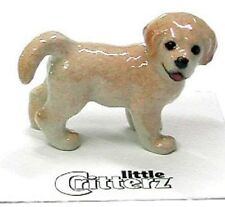 """LC801-  Critterz Figurine -  Golden Retreiver Pup named """"Chase"""""""