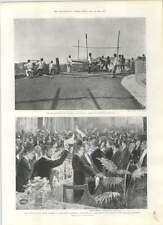 1901 Insurrection Colombia Government Troops Artillery Practice Santos Dumont