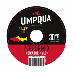 Umpqua Indicator Tippet Red/Yellow