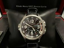Hamilton Khaki Navy GMT Monte Carlo Automatic Limited Edition 2006 Men's Watch !