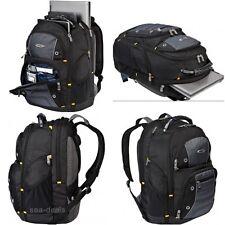 Camera And Laptop Backpack Black Travel Bag Computer Tablet Case College 17 Inch