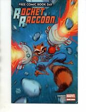 Rocket Raccoon ( Marvel 2014) Skottie Young Cover Free Comic Book Day-VF/NM