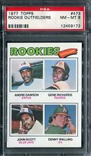 1977 Topps #473 Andre Dawson Rookie! PSA 8 NM-MT