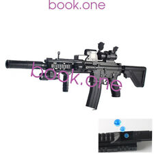 "3"" Gel Ball Blaster M4 HK416 Crystal Bullet Gun Toy+20000 Water Bomb Automatic"