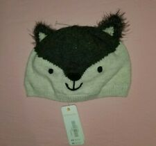 Gymboree Wolf Sweater Grey Winter Fall Hat Baby Boy Size:12-24 Months