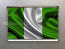 New, Quality Fridge Magnet, Nigeria National Flag, World Cup, Nigerian