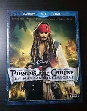 PIRATAS DEL CARIBE - En mareas misteriosas (BLU-RAY + DVD)