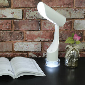 Rechargeable LED Desk Table Reading Lamp with Colour Changing Night Light Base