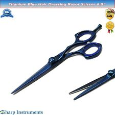 Hair Cutting, Hairdressing Barber Salon Scissors Haarschere SHARP Edge Razor 6.""