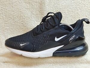 Nike Air Max 270 mens trainers Black/White UK 7.5 EUR 42 US 8.5
