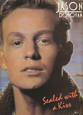 Sealed With A Kiss - Jason Donovan - 1989 Sheet Music