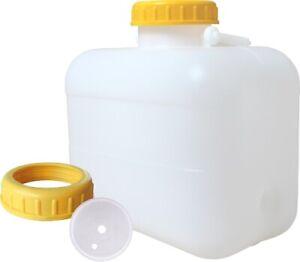 10 Liter Weithalskanister - Wasserkanister - Bügelkanister - Bügelgriff