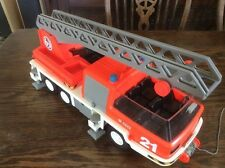 Playmobil Fire Engine Truck ~ Vintage 1981