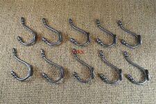 Set di 10 Stile Classico Antico Vittoriano Acorn Top coathook DOPPIO APPENDIABITI R2