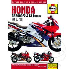 Honda CBR600F2 & F3 cuatro 1991-1998 Haynes Manual De Reparación 2070