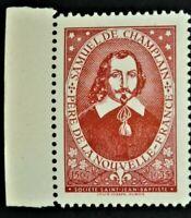 Societe Saint Jean Baptiste Red SAMUEL DE CHAMPLAIN (GUM) Canada F/VF SSJB