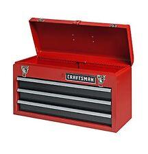 NEW Craftsman 3 Drawer Portable Mechanic Tool Box Chest Organizer Cabinet Garage