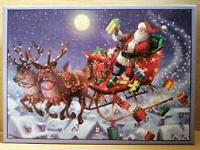 Express Gifts Christmas Eve Santa 1000 piece festive jigsaw puzzle