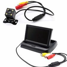 """Car Rear View Kit 4.3"""" LCD Monitor + HD IR Night Vision Reversing Camera"""