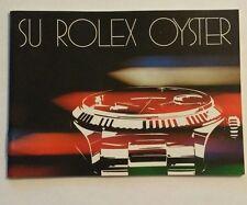 Booklet SU ROLEX OYSTER 20 -1.82 Booklet Libretto ref. 579.24 SPANISH VERSION