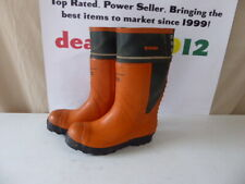 Viking Logger Safety Boots Grade 4 Chainsaw ProtectionMen's 11 us 44 eu 7975-78