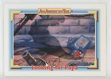 1991 Impel An American Tail: Fievel Goes West #118 Looking for Papa Card 0b6