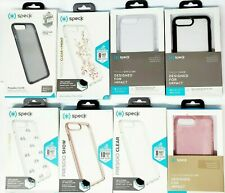 Speck Presidio Clear Glitter Print Case For iPhone 7 Plus iPhone 8 Plus Clear