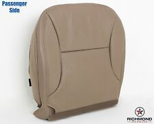 1997 Ford F150 Lariat -PASSENGER Side Bottom Replacement Leather Seat Cover Tan