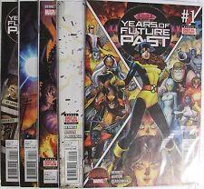 Marvel Comics Years of Future Past set of 5 books.  Secret Wars tie in.