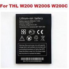 New Original 2000mAh Battery For THL W200 W200S W200C Li-ion High Quality