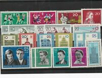 German Democratic Republic mint never hinged stamps Ref 13803