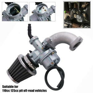ATV Off-road Motorcycle Carburetor Air Filter Intake Pipe For 110cc 125cc Engine