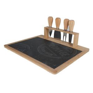 Lovina Bamboo Slate Cheese Board