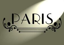 Paris Design Stencil Flourish Shabby Chic Vintage A4 Damask furniture French
