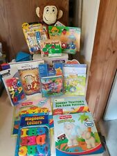 Baby 18 Months to age 5 Books And Other Items Lot Sale
