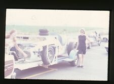 Mario Andretti #2 Kuzma/Offy on Trailer - 1968 USAC - Orig 35mm Race Slide