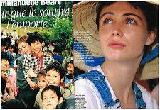 Coupure de presse Clipping 1998 (6 pages) Emmanuelle Béart