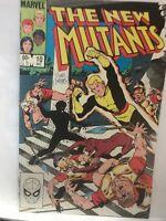The new mutants 10 Signed Nm- Bob Mc