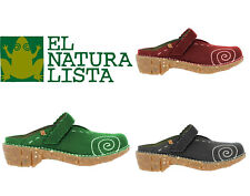 El Naturalista Yggdrasil Pantolette schwarz rot grün NG96