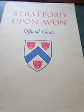 Stratford upon Avon Official Guide  1973 blak and white photographs