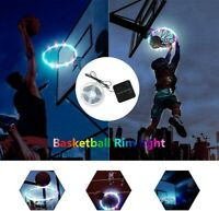 Hoop Light LED Lit Basketball Rim Attachment Help You Shoot Hoop At Night Lamp