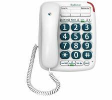 BT Big Button 200 Corded Phone with Handsfree Speaker