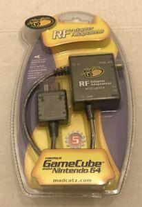 Mad Catz RF Adapter for Nintendo Gamecube / Nintendo N64 model 5604