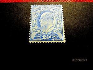GB #131 21/2p mint f-vf og h, cv 22.50